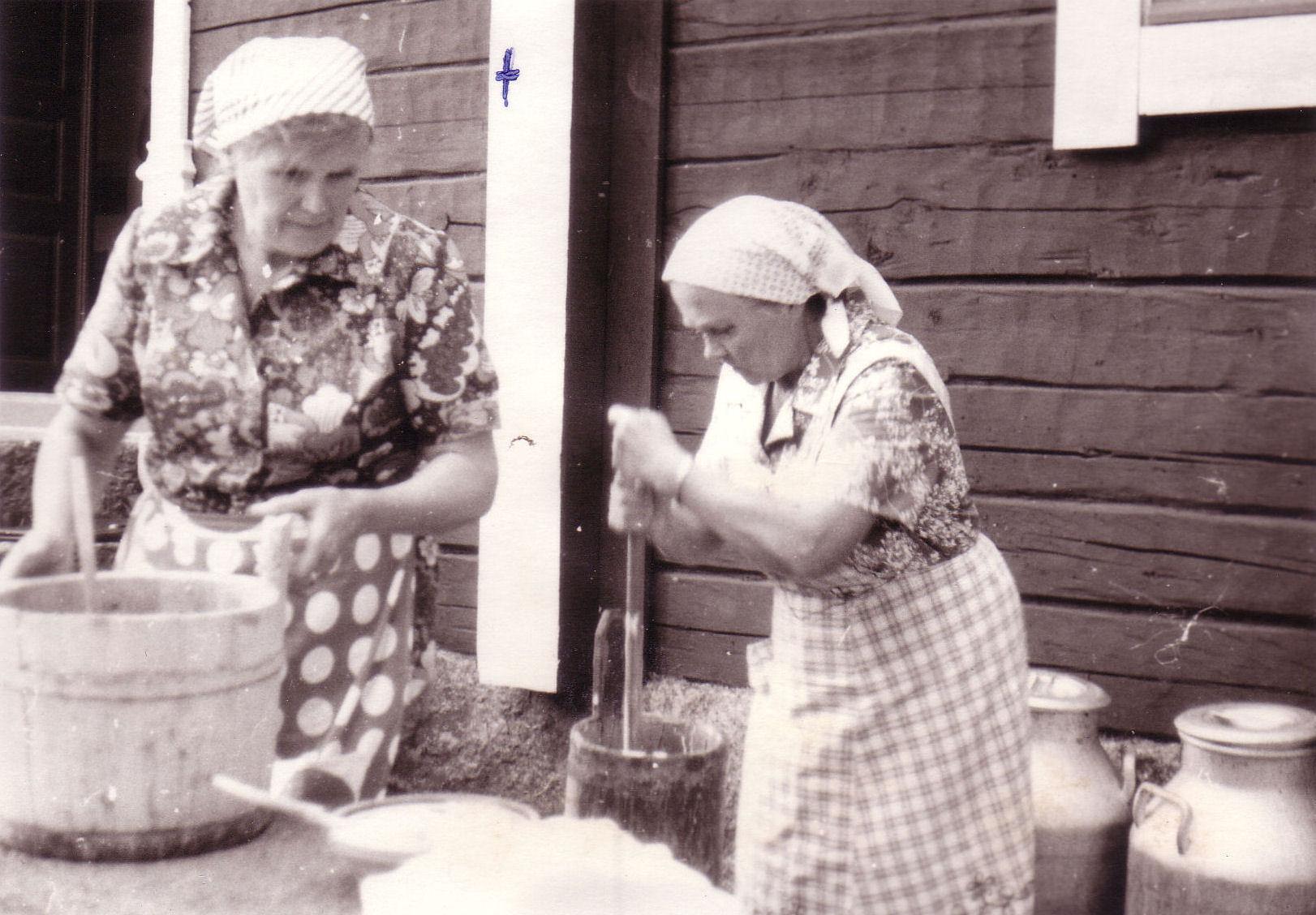 Kurikan päivät 1977 voinkirnuaminen